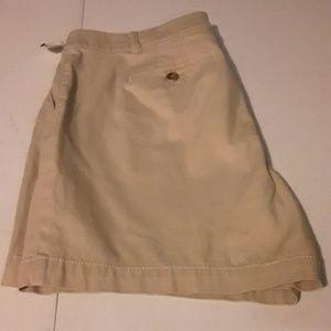 NWT-- Talbots tan the weekend shorts